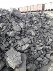Уголь бурый, фракция 0-300 мм. Низшая теплота сгорания 7000 ккал.