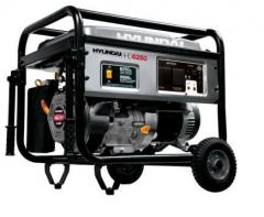 Газ-бензиновый генератор Hyundai HHD6250