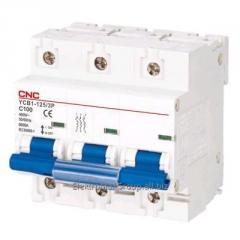 Автоматический выключатель YCB1-125 3P (16A~125A)