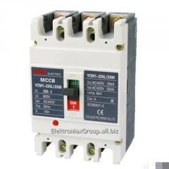 Автоматический выключатель YCM1-225L 3P (160A~225A)