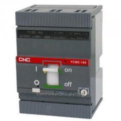 Автоматический выключатель YCM2-160S 3P (160A)