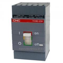 Автоматический выключатель YCM2-250S 3P (250A)