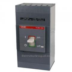 Автоматический выключатель YCM2-400S 3P (400A)