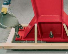 Безусадочная быстротвердеющая бетонная смесь наливного типа