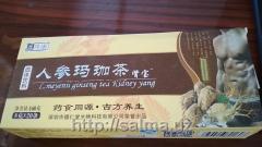 Травяной урологический чай с женьщенем от простатита