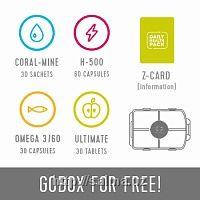 Упаковка Здоровья на каждый день(Daily Health Pack) серый от компании Coral club