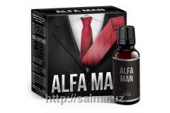 БАД для мужчин капли Alfa Man