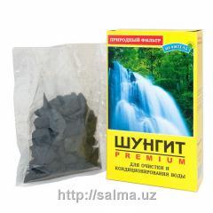 Шунгит премиум класса, упаковка 150 грамм