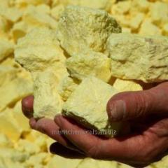 Sulphur gas lump and powder