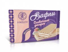 Вафли Сливочный десерт