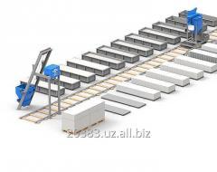 Линия для производства  газоблоков и пеноблоков