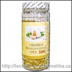 Мягкая капсула из чесночного масла саньвэнька