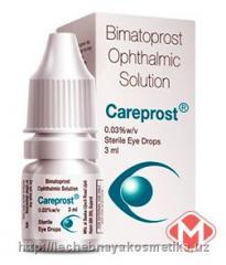 Средство для увеличения ресниц Careprost (Карепрост) Bimatoprost Ophthalmic Solution
