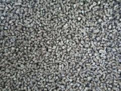Secondary low-density polyethylene pellets