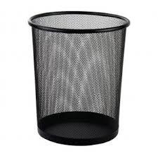 DELI урна металлическая круглая 9188