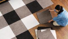 Ковровые плитки иглопробивное