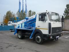 Автогидроподъемник ВИПО-20 МАЗ-4370