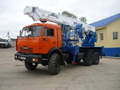 Автогидроподъемник ВИПО-32 КАМАЗ