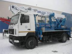 Автогидроподъемник ВИПО-32 МАЗ