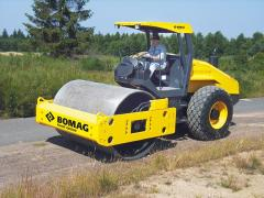 Ground compaction machinery and equipment