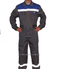 Overalls for protection against sparks and