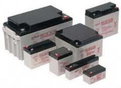 Батареи аккумуляторные для мотоциклетной техники
