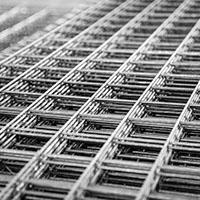 Welded fence mesh