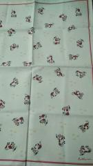 Махровое полотенце для кухни 50/70. TrioLino ( Kract GmbH & Co.KG) Германия. Состав:  50%лен 50 % хлопок
