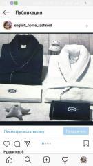 Элитный мужской вафельный халат с полотенцами Maison Dor Paris Marine set