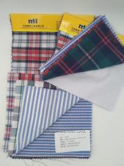 Ткани для рубашек разных видов