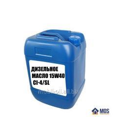 Дизельное масло 10w40,15w40 CI-4/SL (упаковка по