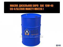Масло дизельное SHPD SAE 15w-40 СG-4/SL MAN271
