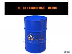 Индустриальное масло HL 68 (аналог И50) налив