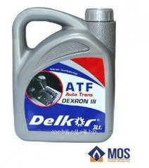 Масло трансмиссионное Delkor ATF VI(3л)