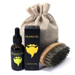 Масло для роста бороды Beard Oil Yellow