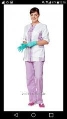 Медицинский женски комплект 014