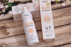 Солнцезащитный спрей spf 50 Sun screen V7