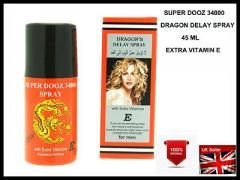 Спрей-пролонгатор Super Dooz 34000 Dragon's Spray с витамином Е 45 мл