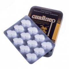 Препарат для мужчин Снайпер для повышения потенции в таблетках