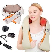 Массажер роликовый для шеи и спины Massager...