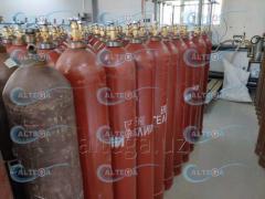 Гелий газ высокой чистоты марка 6.0 99,9999%