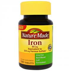 Пищевая добавка Iron Nature Made 65 мг...