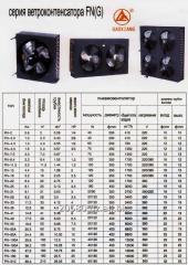 Кондензатори с въздушно охлаждане