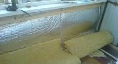 Thermal insulation for walls