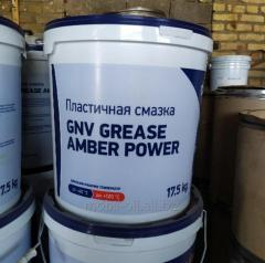 Смазка техническая GNV Grease Amber Power