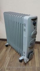 Маcлянный обогреватель 13 секц с вентилятором Nikai