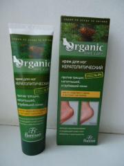 Крем для ног кератолитический Organic