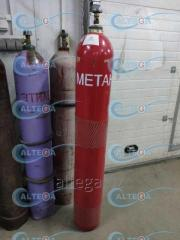 Метан газообразный (99, 9%)