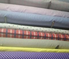 Ткань для производства текстиля цветная