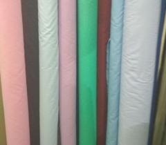 Ткань для производства текстиля однотонная...